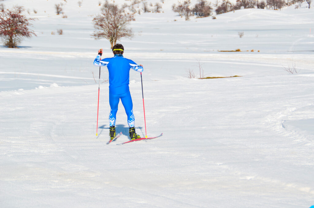 skier-in-blue-metsovo-ski-center-race-ioannina-epirus-greece