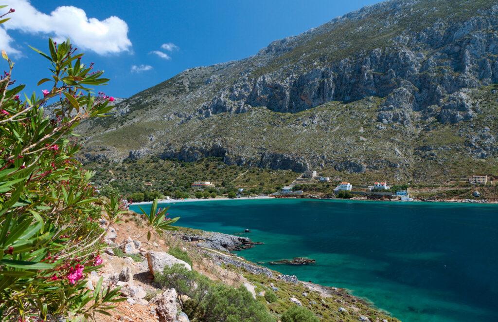 Arginontas beach, Kalymnos island, Dodecanese Greece
