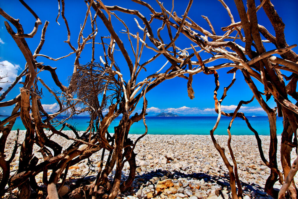 Gidaki beach, Ithaca island, Ionian Sea Greece