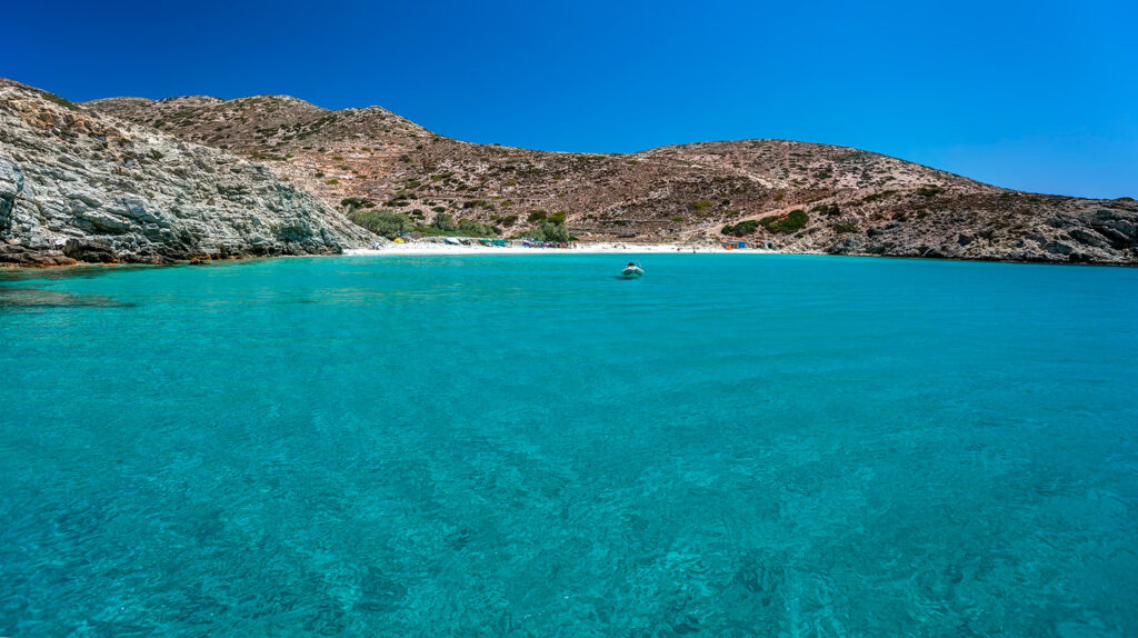 Livadi beach, Donousa island, Lesser Cyclades Greece