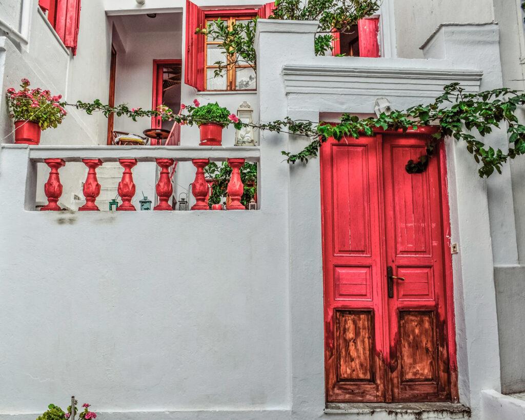 House in Chora Skopelos, Sporades Greece - Photo by Dimitris Vetsikas