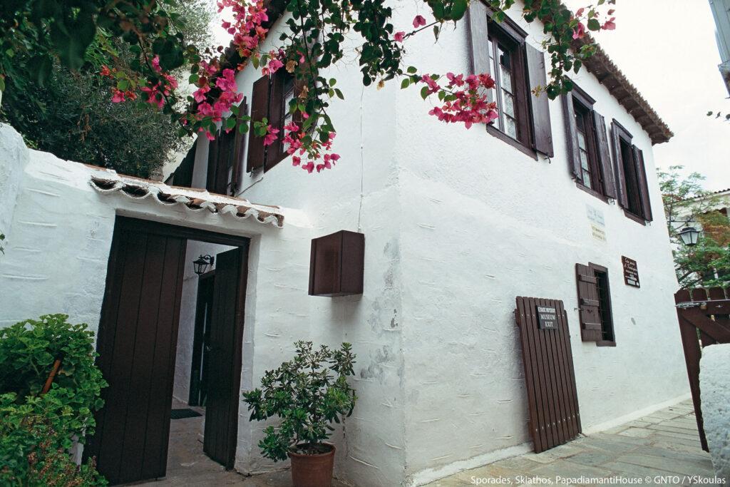 House of Papadiamanti, Skiathos, Sporades Greece