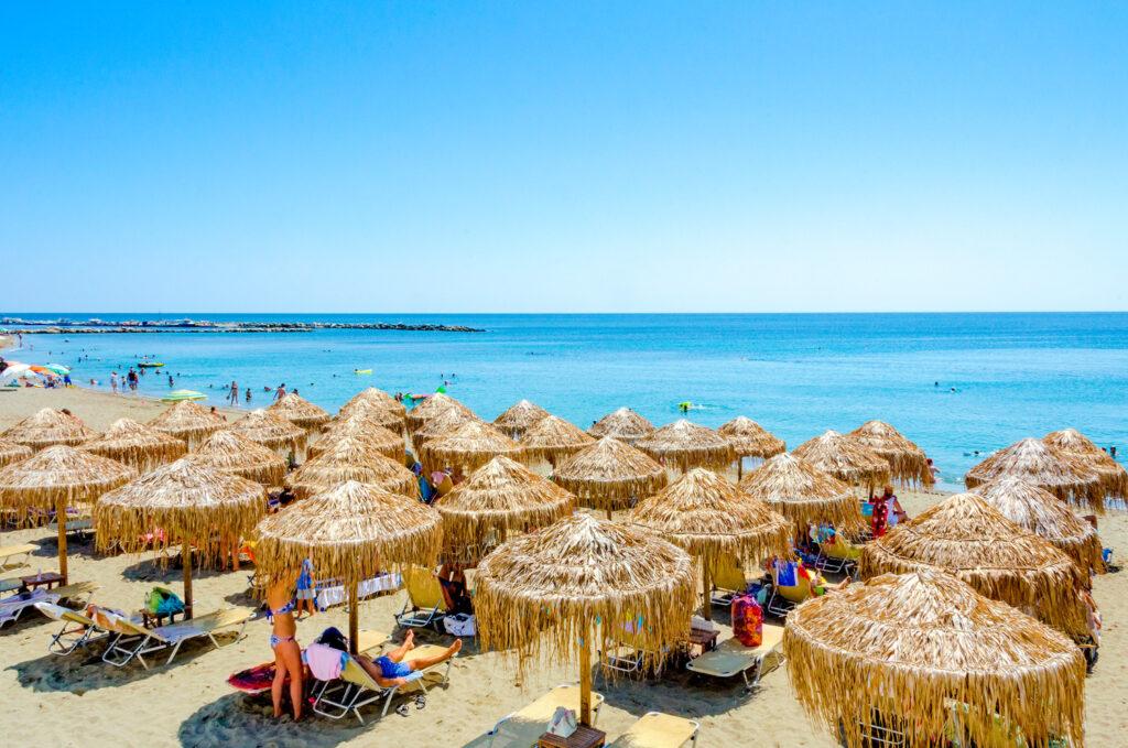 Molos beach in Skyros island, Sporades Greece