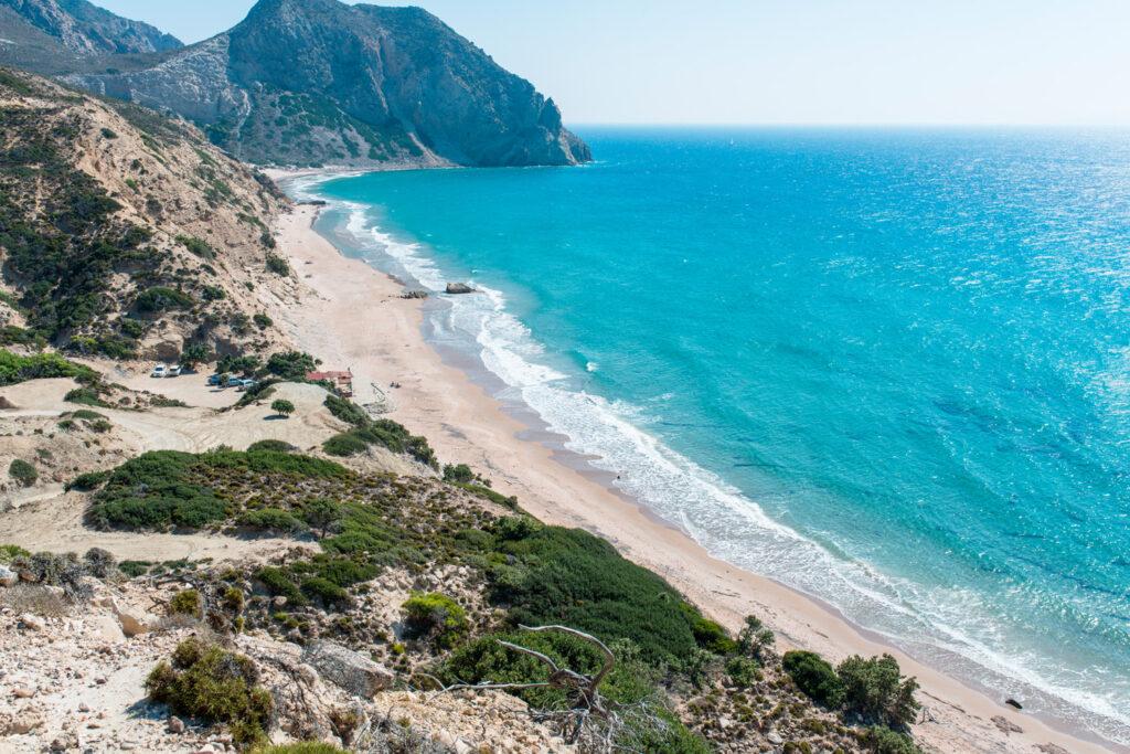 Paradise beach, Kos, Dodecanese Greece