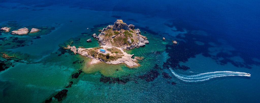 Kastri Islet near Kefalos village, Kos, Dodecanese Greece