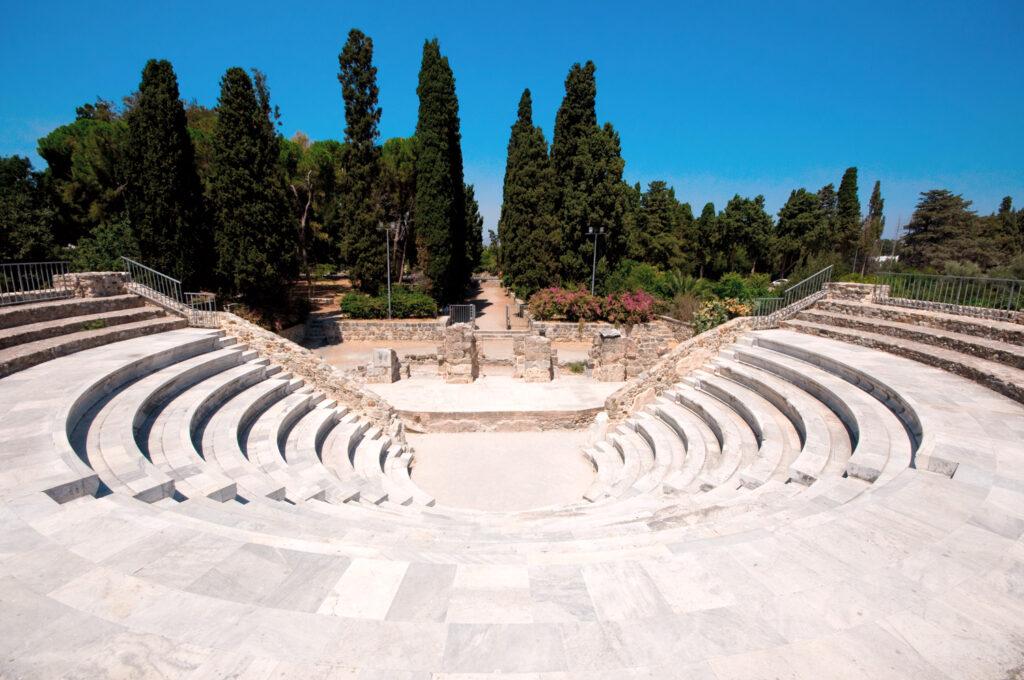Roman Odeon of Kos, Dodecanese Greece