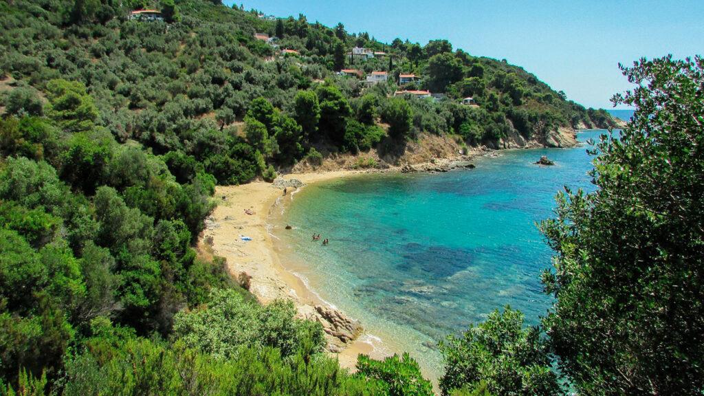 Diamanti beach, Skiathos, Sporades Greece