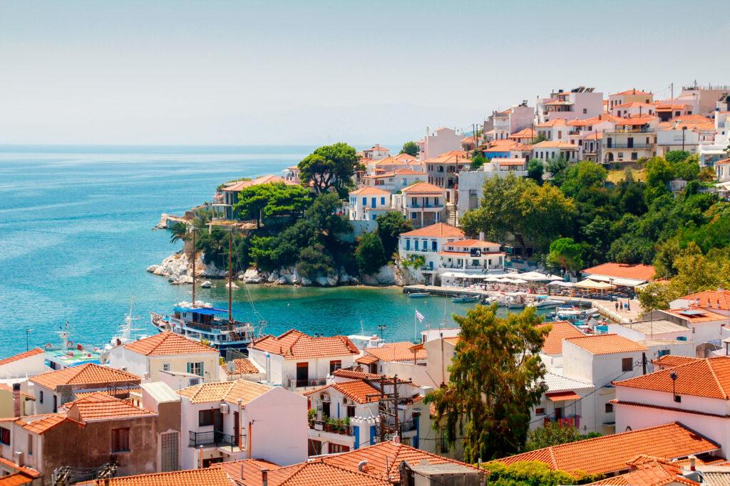 Skiathos Town, Skiathos, Sporades Greece