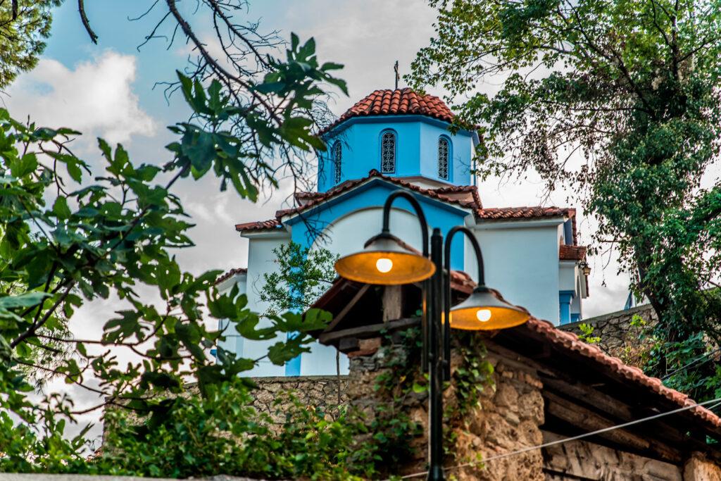 Agioi Anargiroi church at Varosi area, in Edessa, Macedonia, Greece