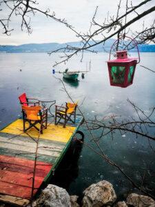 Kastoria lake, West Macedonia Greece