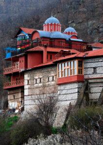 Orthodox monastery in Kastoria, West Macedonia Greece