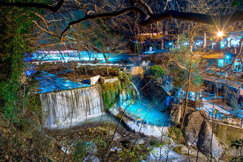 Thermal Springs Pozar, near Edessa, Macedonia Greece