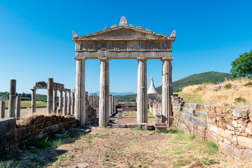 Ancient Messene (Messini), Peloponnese, Greece