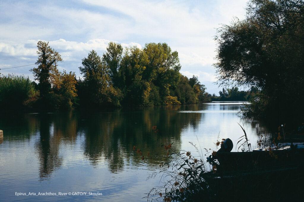 Aracthos river, Arta, Epirus Greece - Photo by Y. Skoulas