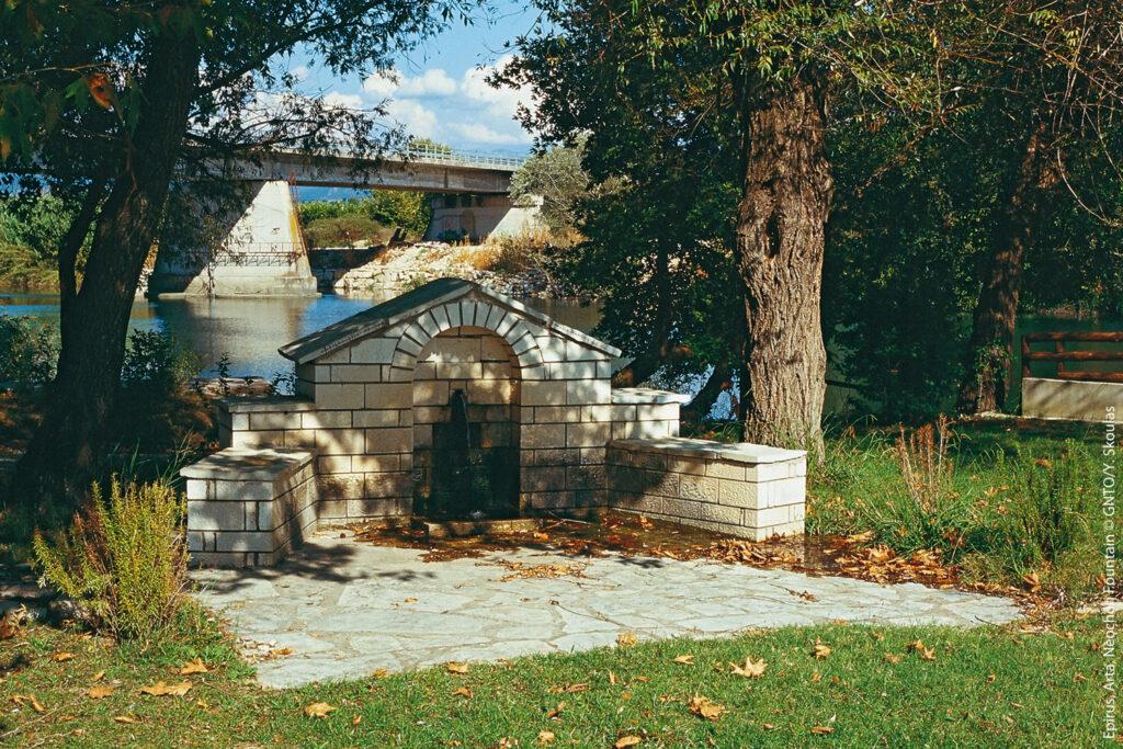 Fountain in Neochori, Arta, Epirus Greece - Photo by Y. Skoulas