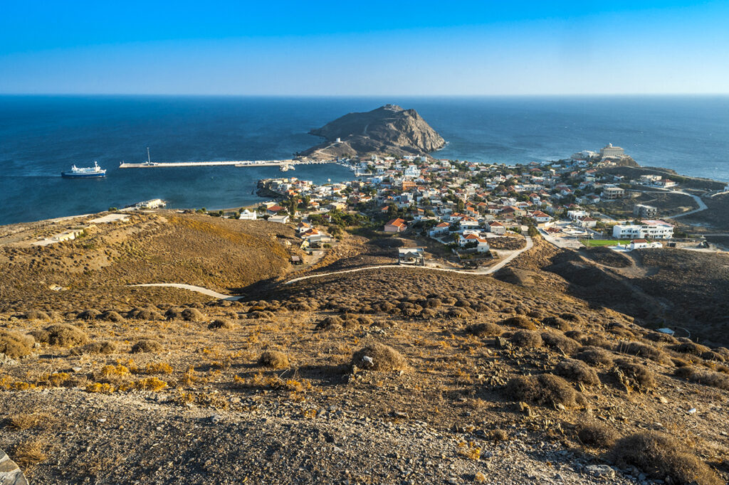 Psara island, North Aegean Sea, Black Ridge - Photo by Thanasis Christodoulou