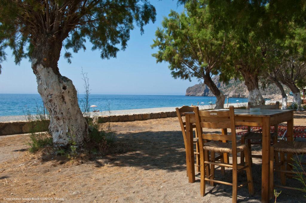 Sougia beach - Chania - Photo by Y. Skoulas