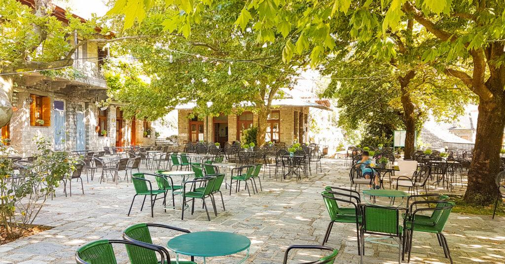 Summer in Vourgareli village, Arta, in Epirus Greece