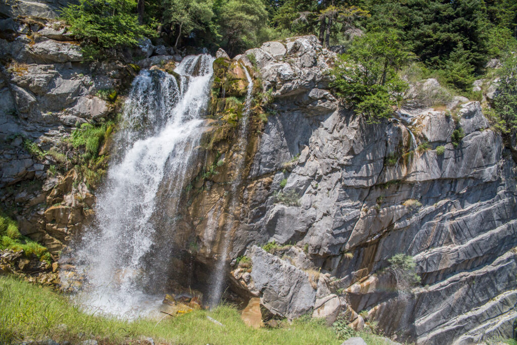 Waterfalls in Theodoriana, Arta prefecture, Epirus Greece