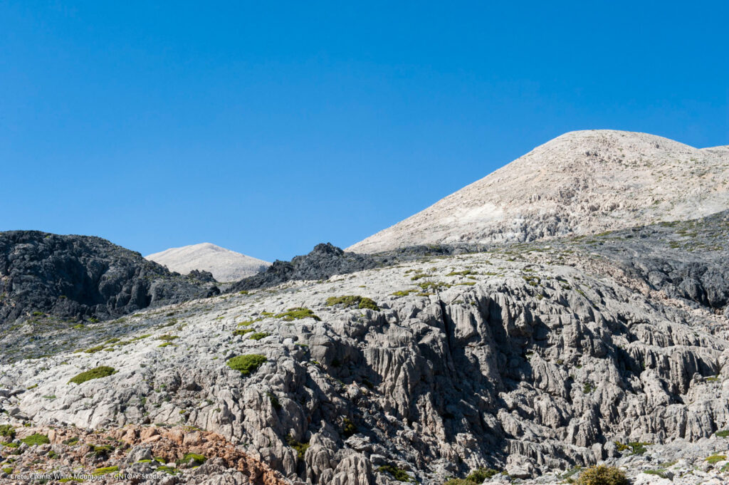 The White Mountains in Chania region, Crete Greece - Photo by Y. Skoulas