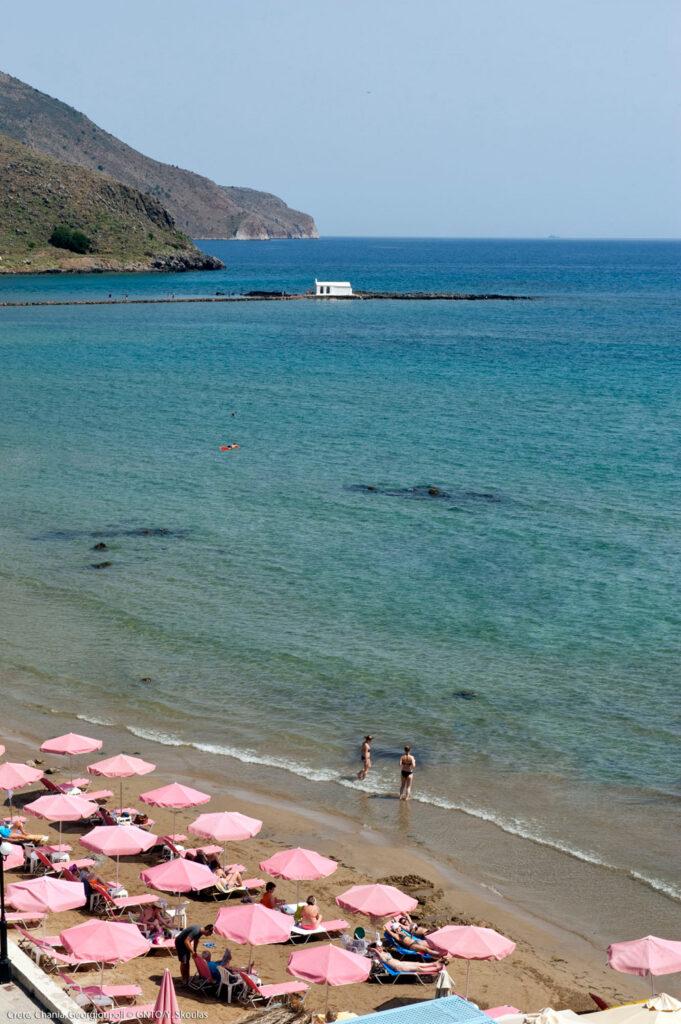 Georgioupoli beach, Chania Crete, Greece - photo Y. Skoulas