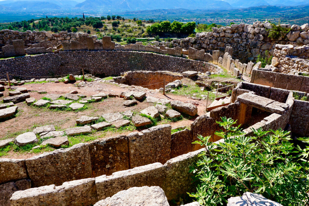 The Archaeological Sites of Mycenae and Tiryns, located in the Regional unit of Argolis, Greece