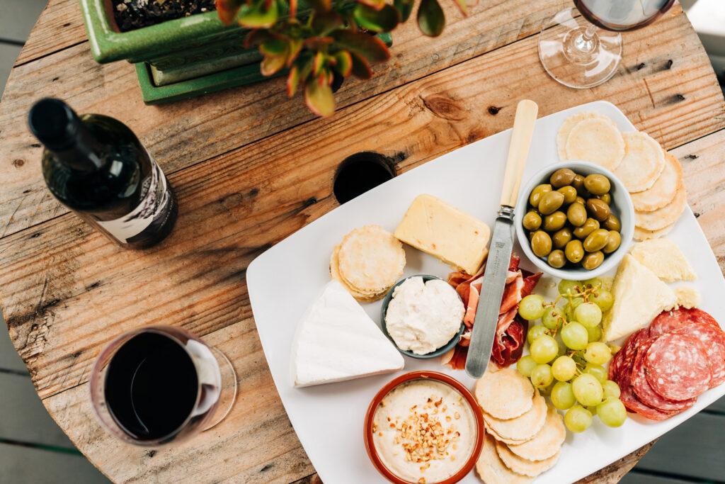 taste olives, oil, cheese, tapas, wine in greece