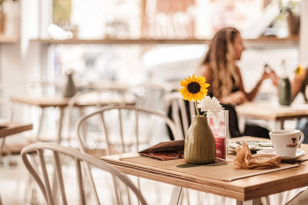 Cafe in Patras, Western Greece - Photo by Angelo Pantazis