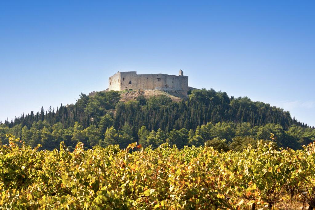 Chlemoutsi Castle of Kyllini at Peloponnese, Greece