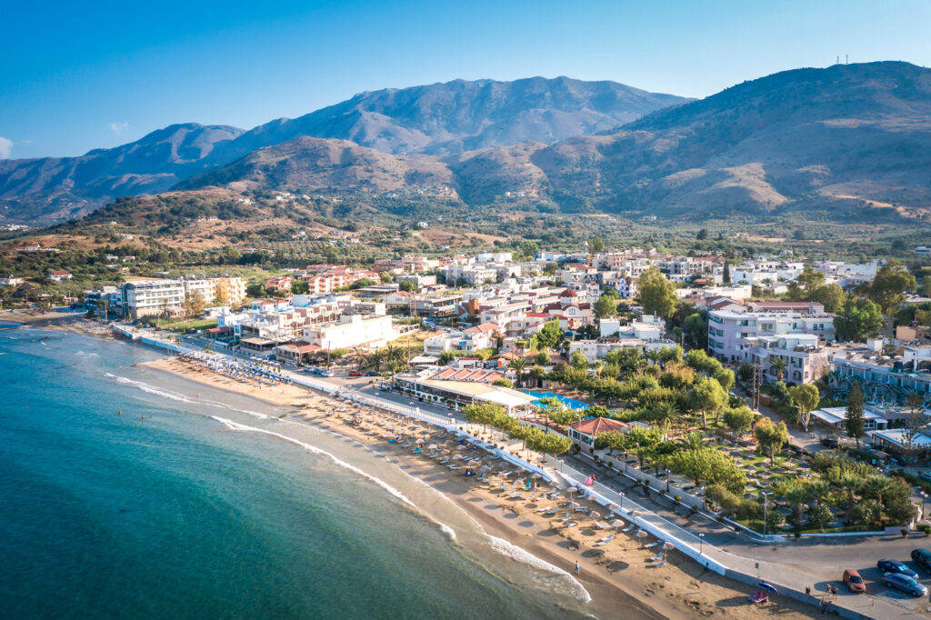 Georgioupoli area, beach travel destination in greece