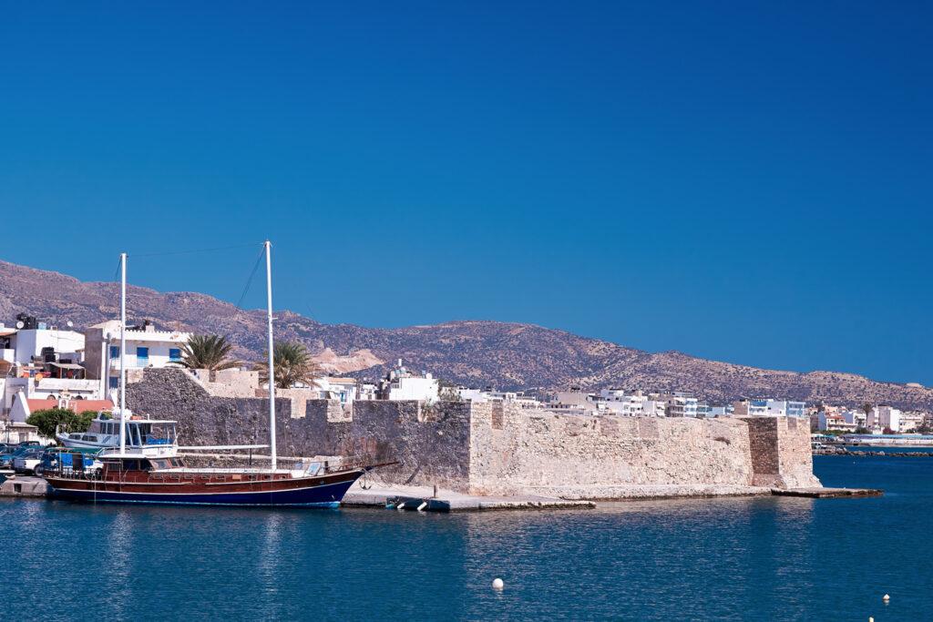 Kales Venetian fortress at Ierapetra in Crete, Greece