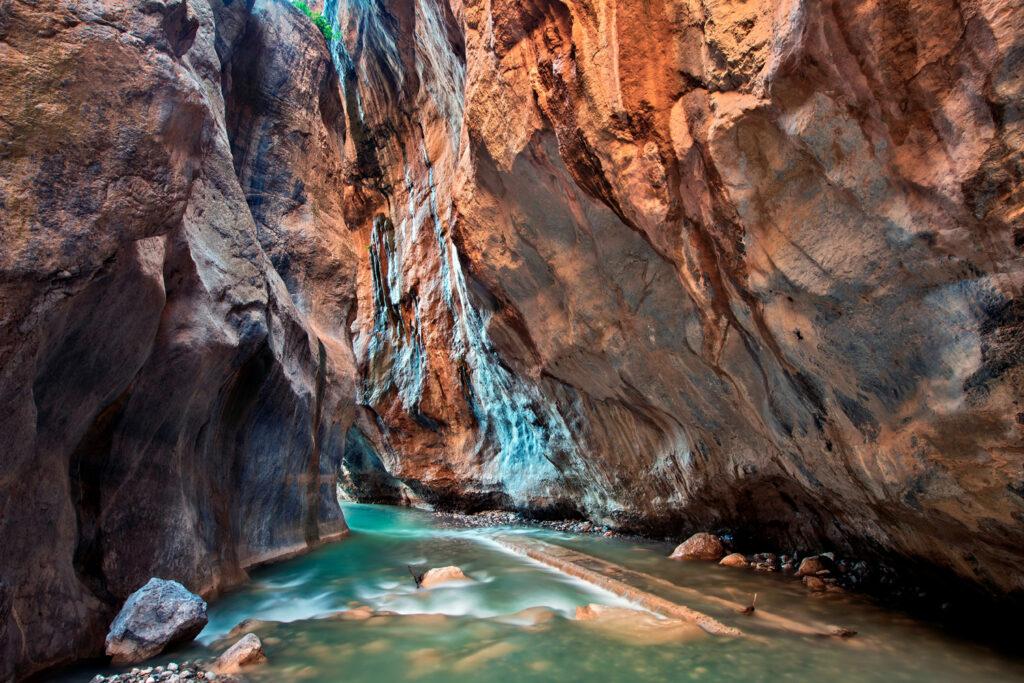 Sarakinas Gorge, Crete, Greece
