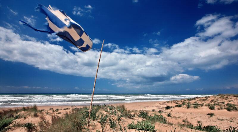 Kyllini beach, Kastro-Kyllini, Peloponnese Greece
