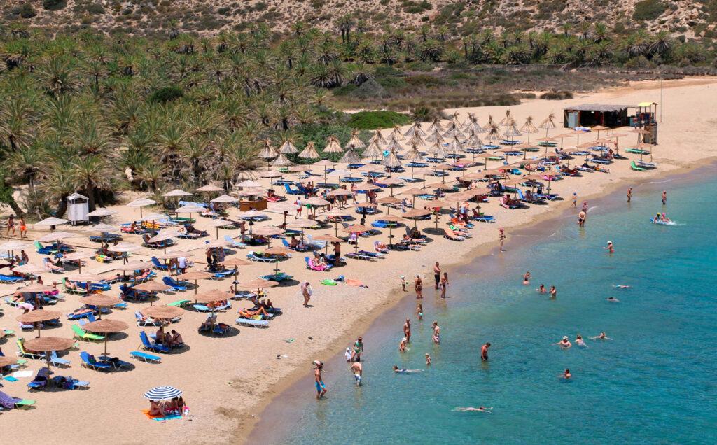 Vai Palm beach, Crete Greece