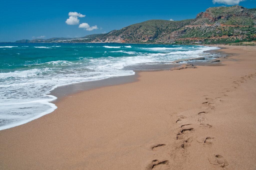 Agios Nikolaos beach, Crete, Greece