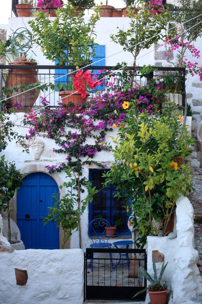 Kritsa village in Crete