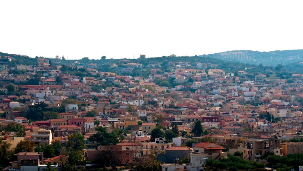 Archanes village in Heraklion region, Crete Greece