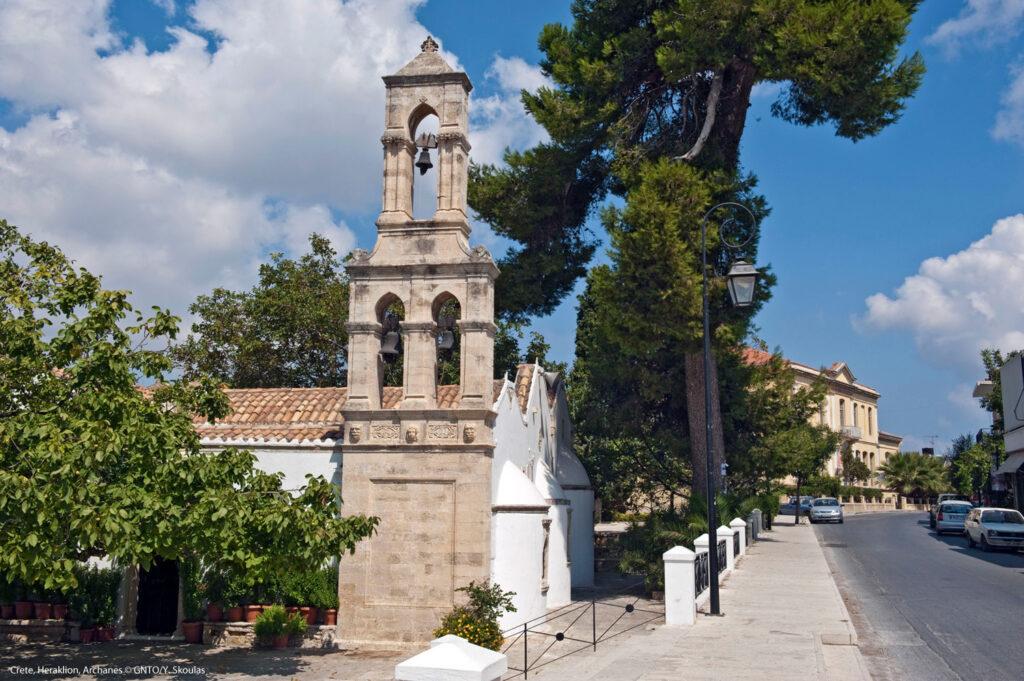 Church of Virgin Mary in Archanes, Heraklion Crete - Photo by Y. Skoulas