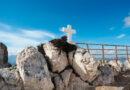 Cross on Mt Juktas, Archanes Crete, Greece